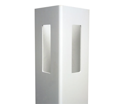 "White 5"" x 5"" x 8' Routed Corner Post afc-030"