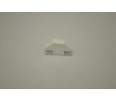 "White Dog Eared Picket Cap 7/8"" x 3"""