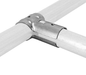 """1-5//8/"""" x 1-3//8/"""" Line Rail Clamps Chain Link Fence 10 Pack"""