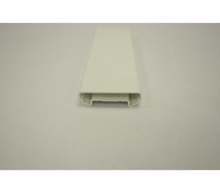 "White Rail Cap 1"" x 3-1/2"" x 16'"