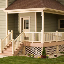 "Vinyl Picket Railing Kit 36"" x 96"" - Khaki"