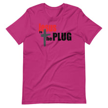 Load image into Gallery viewer, Jesus is the Plug Short-Sleeve Unisex T-Shirt