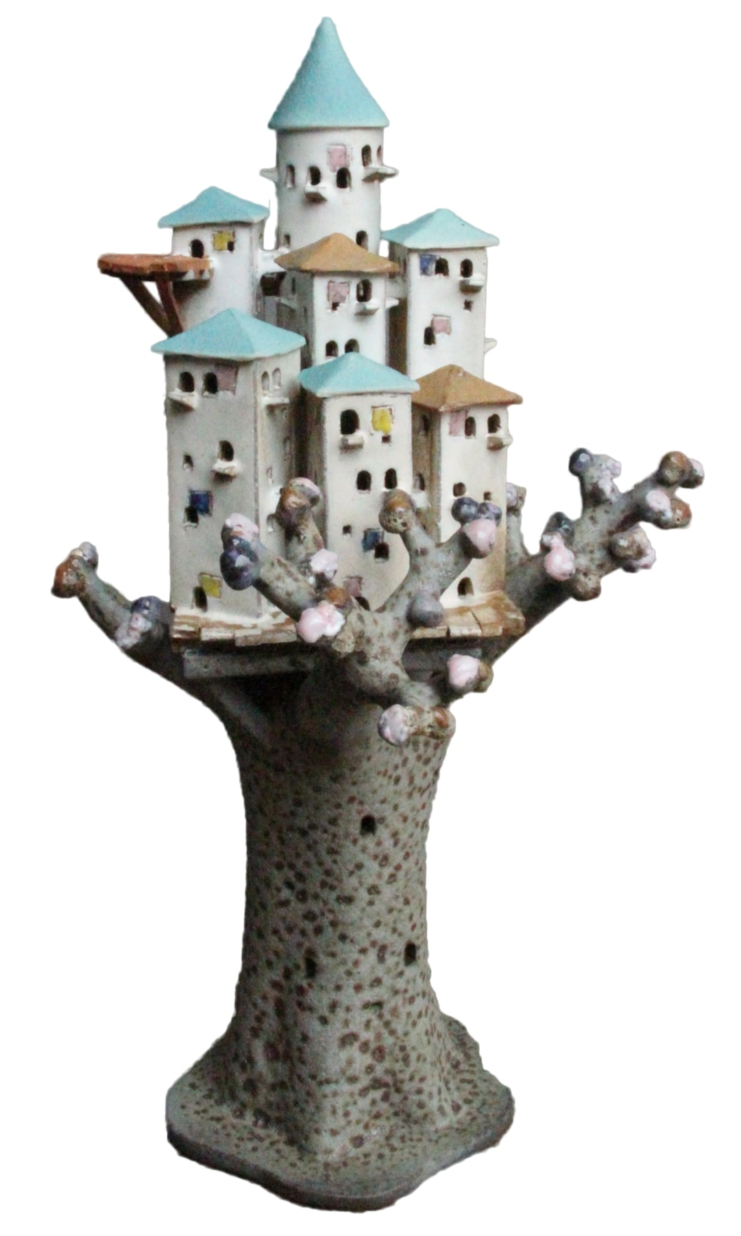 little town on treetop