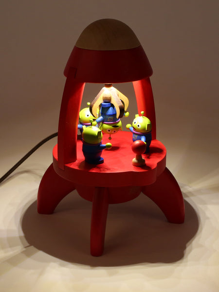 toy story aliens in red rocket