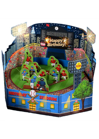 Baseball Stadium Pop-UP Greeting Card