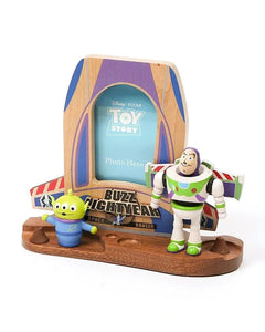 buzz lightyear with alien photo frame
