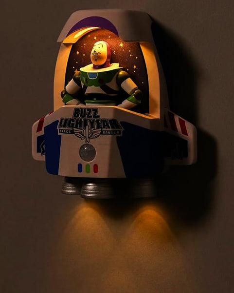 buzz lightyear wall sensor light