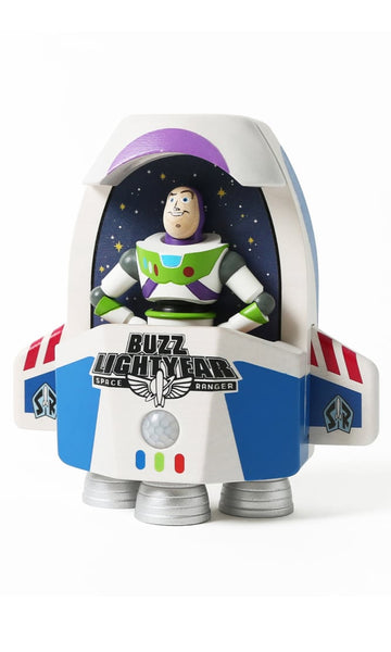 buzz lightyear in rocket ship