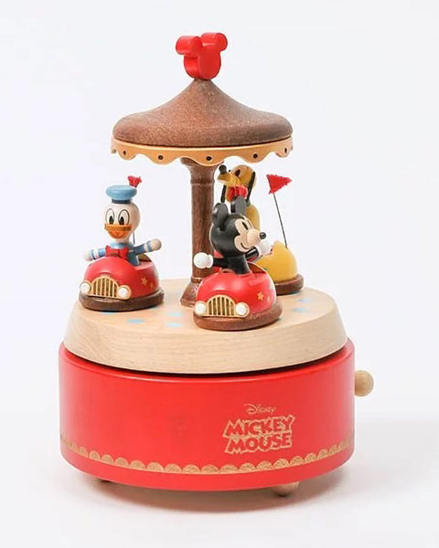 mickey donald and pluto in bumper cars