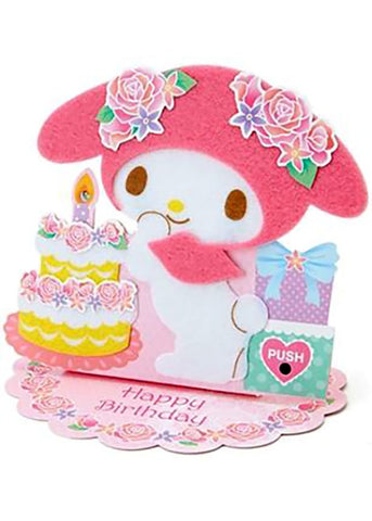 Melody And Birthday Cake Card