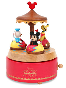 mickey bumper cars music box