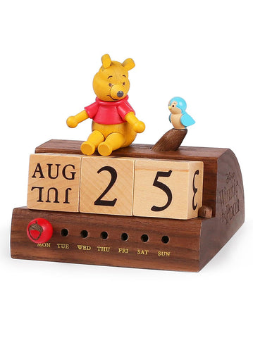 winnie the pooh and little blue bird