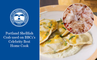 Portland Shellfish Crab used on BBC1's Celebrity Best Home Cook