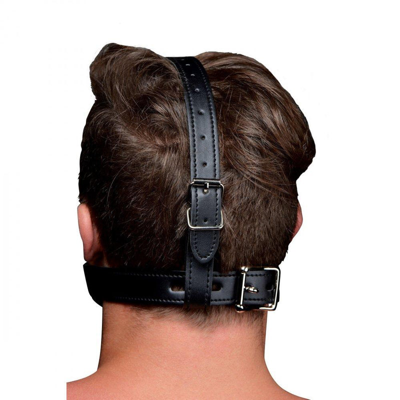 Open Mouth Head Harness- BDSM