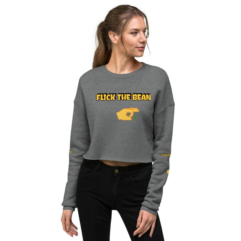 """Flick the bean ""Crop Sweatshirt - AdultToys For Us"