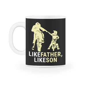 Like Father Like Son Motocross Mug
