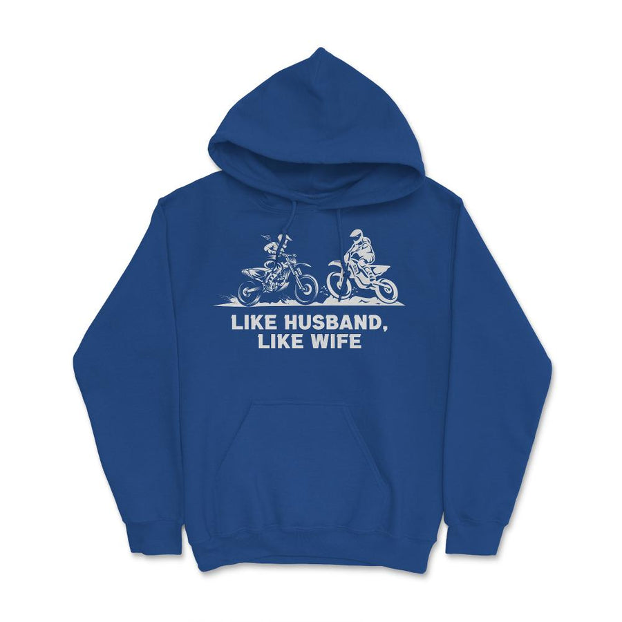 Like Husband Like Wife Motocross Unisex Hoodie