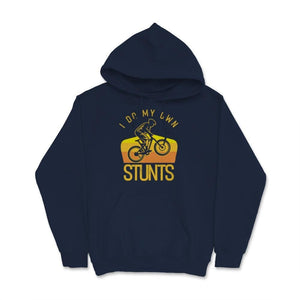 I Do My Own Stunts BMX Retro Unisex Hoodie