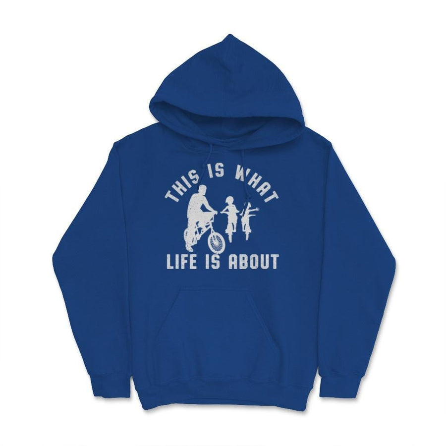 This Is What Life Is About BMX Two Kids Unisex Hoodie