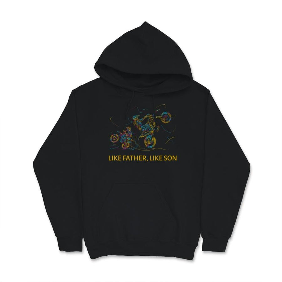 Like Father Like Son Motocross Unisex Hoodie