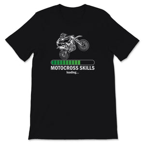 Motocross Skills Dirt Bike Unisex Premium T-Shirt