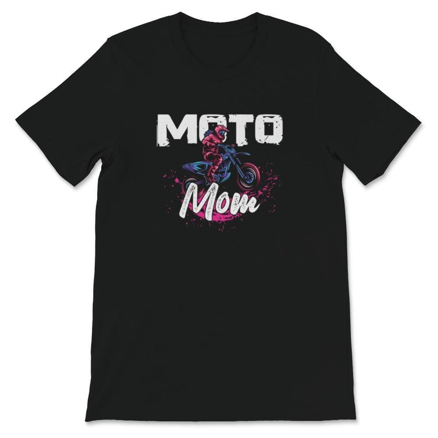 Moto Mom Motocross Family Unisex Premium T-Shirt