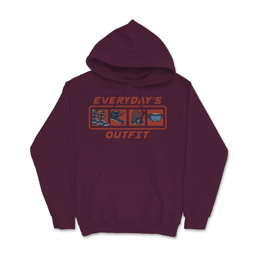Everyday's Outfit Motocross Unisex Hoodie