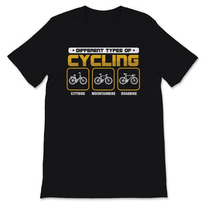 Different Types Of Cycling Bike Unisex Premium T-Shirt