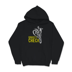 Gravity Check Motocross Youth Kids Unisex Hoodie
