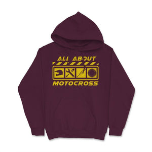 All About Motocross Unisex Hoodie