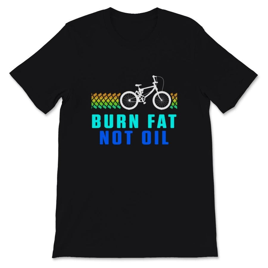 Burn Fat Not Oil BMX Unisex Premium T-Shirt