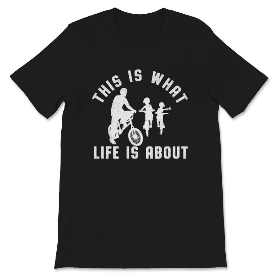 This Is What Life Is About BMX Two Kids Unisex Premium T-Shirt