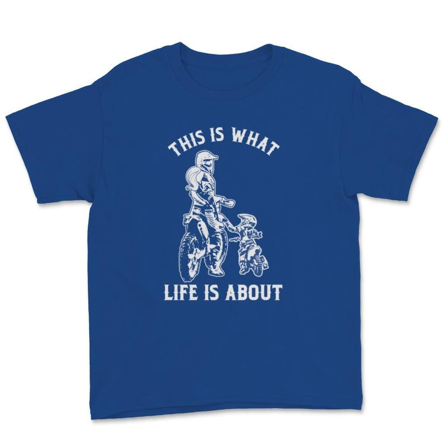 This Is What Life Is About Mother Child Family Unisex Youth T-Shirt