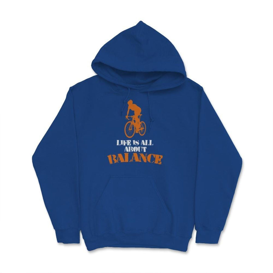 Life Is All About Balance Cycling Bike Unisex Hoodie