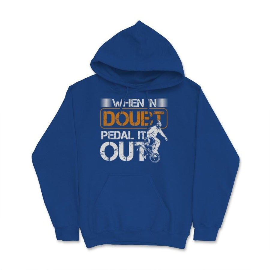 When In Doubt Padel It Out BMX Unisex Hoodie