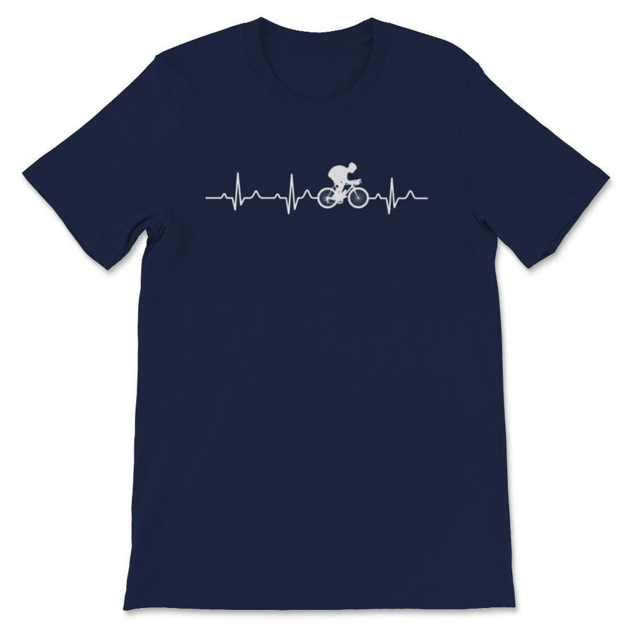 Bike Heartbeat Unisex Premium T-Shirt