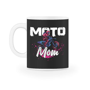 Moto Mom Motocross Family Mug