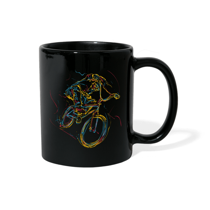 Bike One Line Bike BMX Mug - black