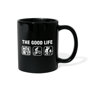 The Good Life Bike Mug - black