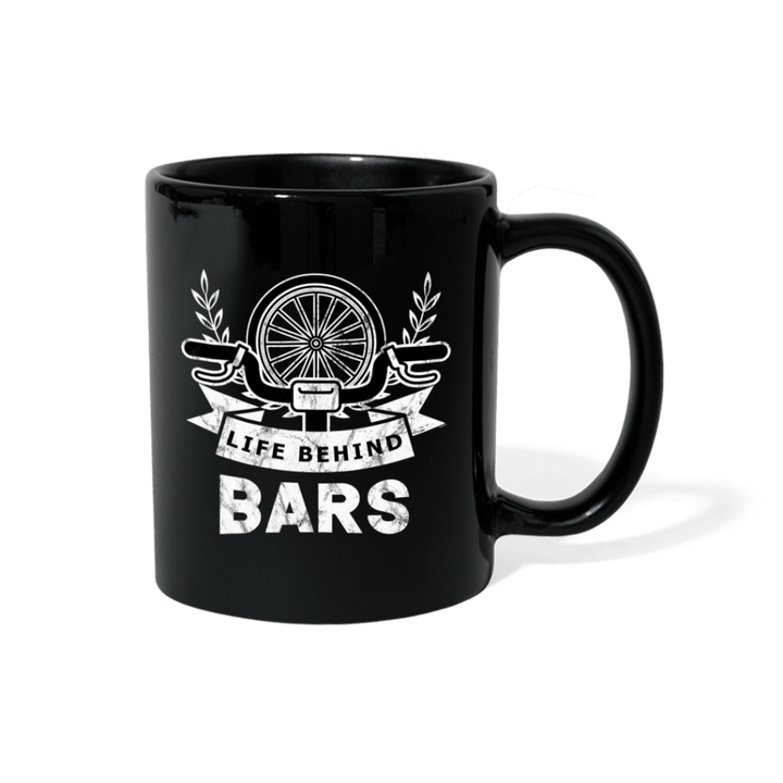 Life Behind Bars BMX Bike Mug - black
