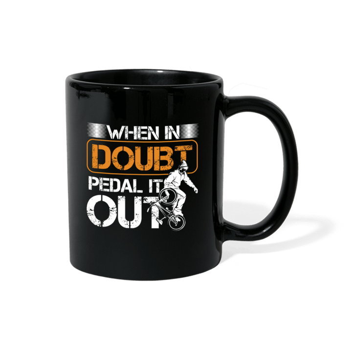 When In Doubt Padel Out BMX Mug - black