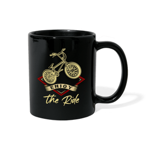 Enjoy The Ride BMX Mug - black