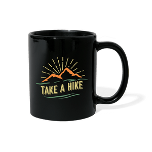 Take A Hike Outdoor Mug - black