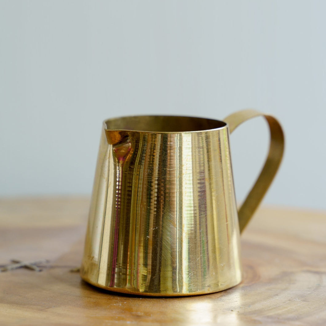 Brass Milk Pot