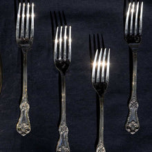 Load image into Gallery viewer, Gift Box of Cutlery (Engraved brass forks & spoons)