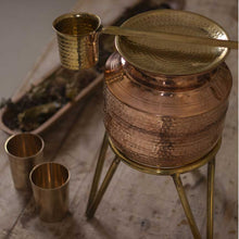 Load image into Gallery viewer, Copper Water Matka/ Copper water Pitcher