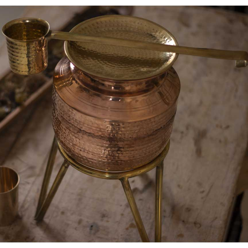 Copper Water Matka/ Copper water Pitcher