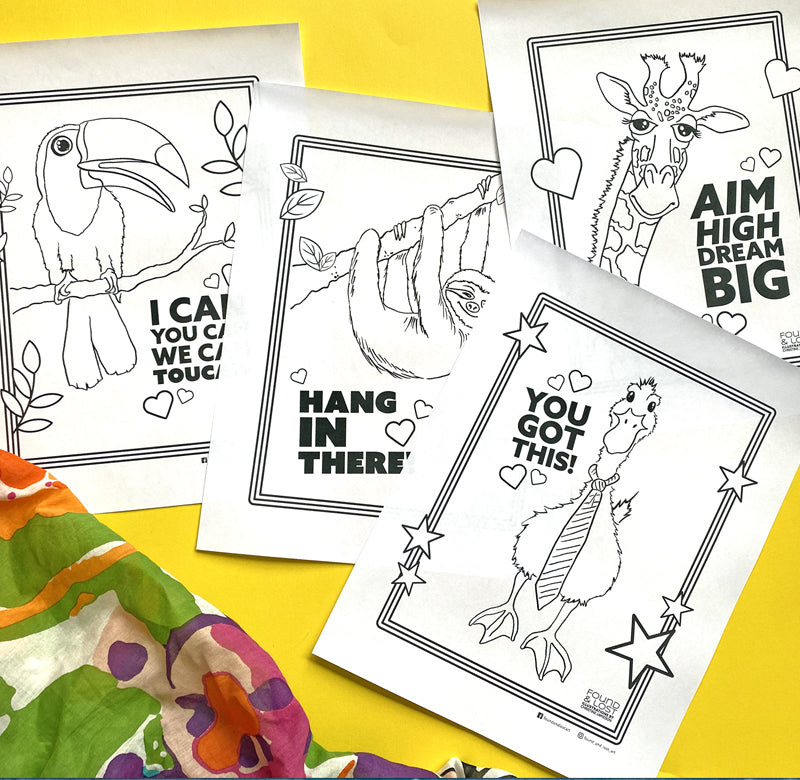 Free Printable Colouring Sheets