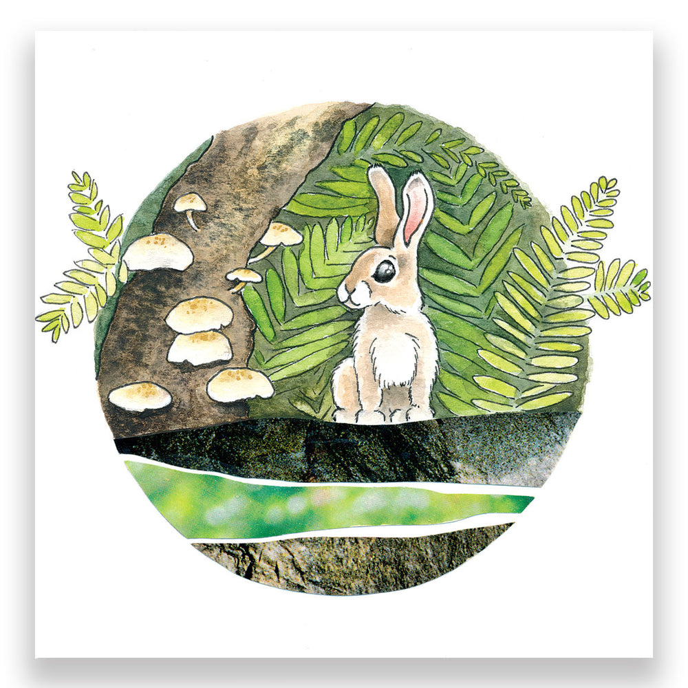 Wild Rabbit 4x4 Mini Art Block