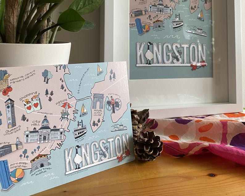 Kingston Postcard